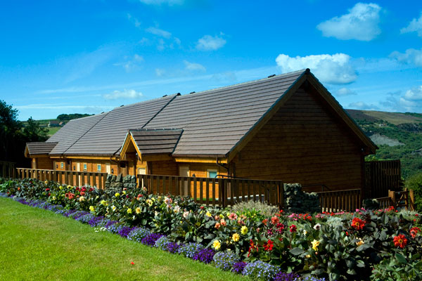 The lovely Lodges at Raven Hall Country House Hotel, Whitby