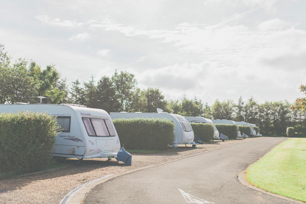 Touring pitches at Northcliffe & Seaview Holiday Parks