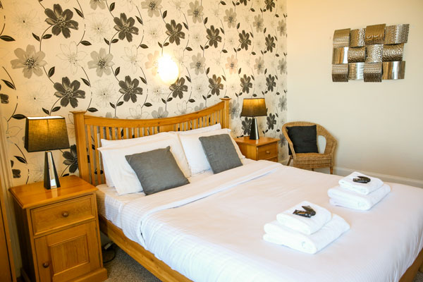 A lovely double bedroom at The Riviera Guest House, Whitby