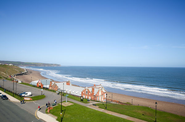 A unspoilt sea view at The Riviera Guest House, Whitby