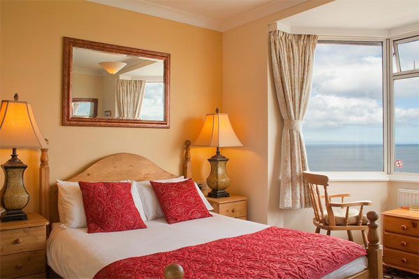 The Seaview Premier Room with Bay Window at The Seacliffe Hotel, Whitby