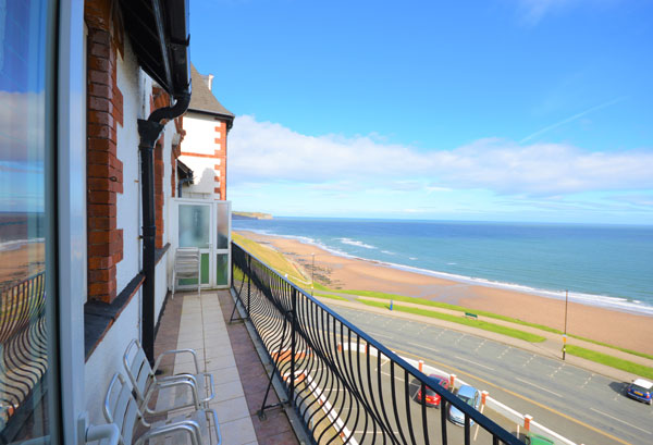 The unspoiled view from Metropole View, Whitby Holiday Cottages