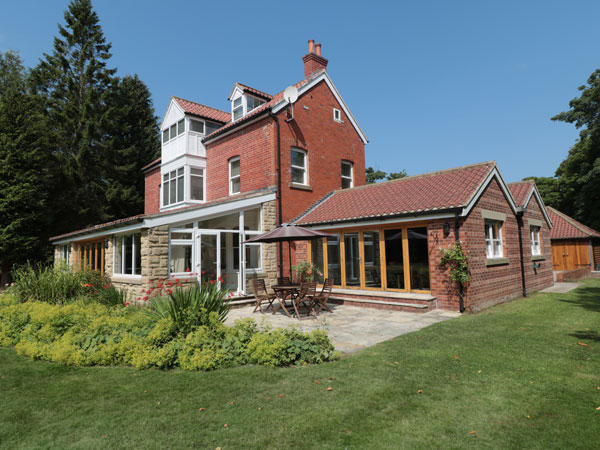 A large detached property available from Sykes Cottages, Whitby