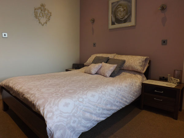 The cosy double bedroom at Seaview, Whitby