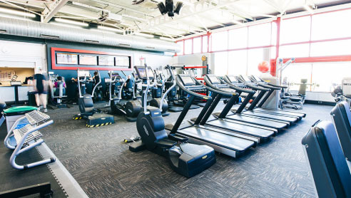 Gym facilities at Whitby Leisure Centre, Whitby